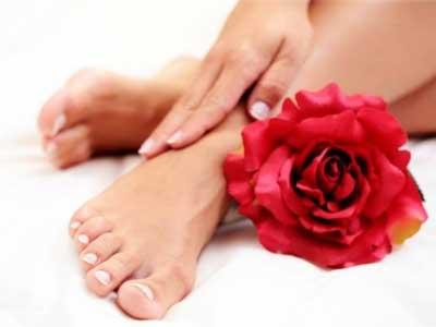 ноги, роза