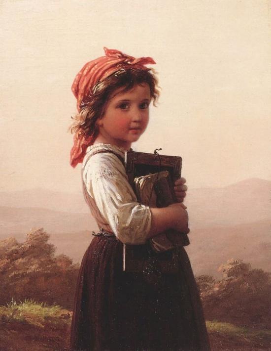 художник Иоганн Георг Майер фон Бремен (Johann Georg Meyer von Bremen) картины – 24