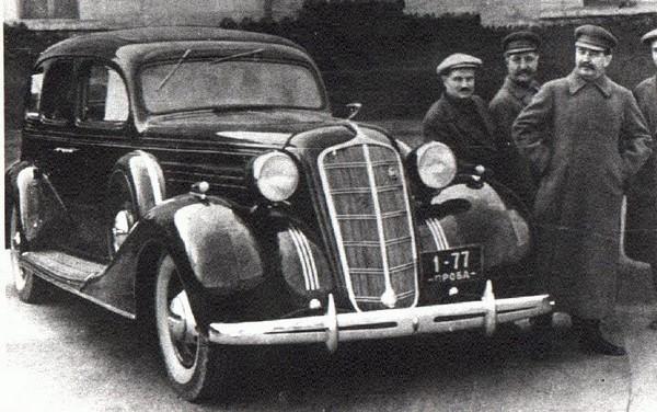 ЗИС-101 – бронированный автомобиль для Сталина. Источник фото: Википедия