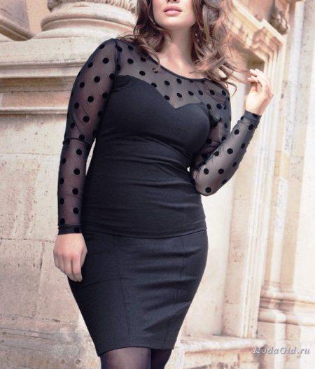 Хорошие примеры для современной модницы размера плюс
