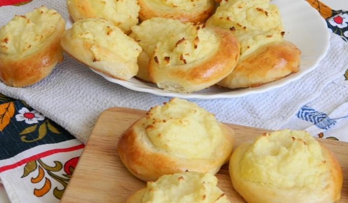 Шаньги с картофелем