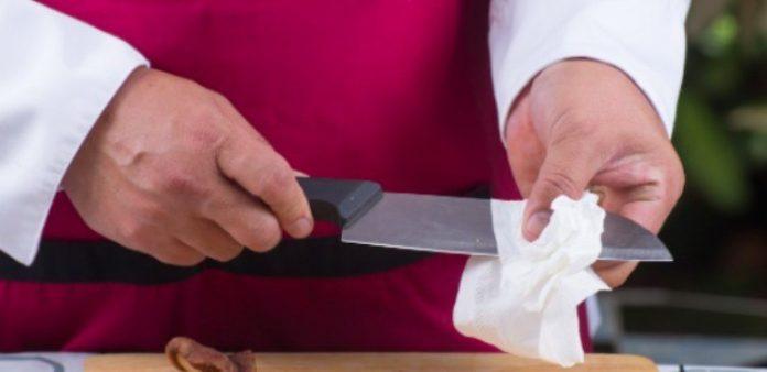 Что происходит, когда Вы сушите ножи сразу после мытья