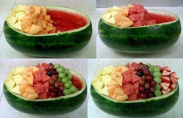 Как красиво подать фрукты-2