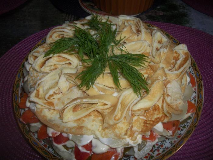 Салат по-казахски