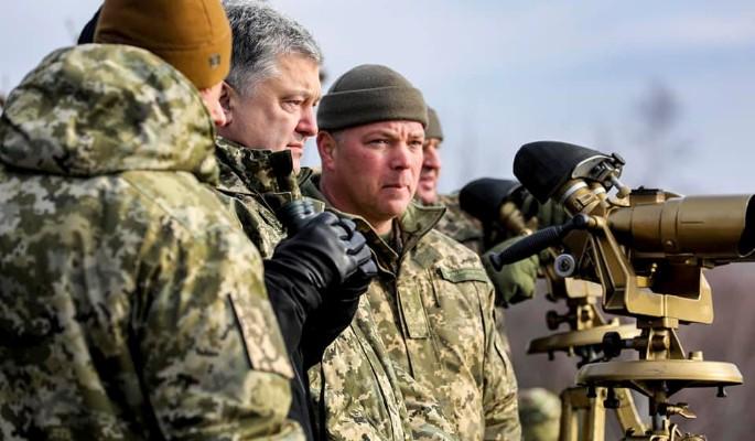 Порошенко объявил Путину о войне