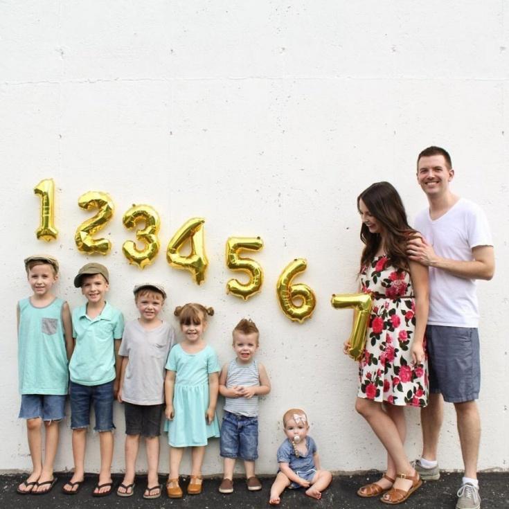 Фото для большой (очень) семьи
