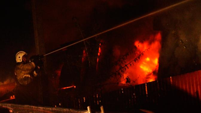 Взрыв на военном складе