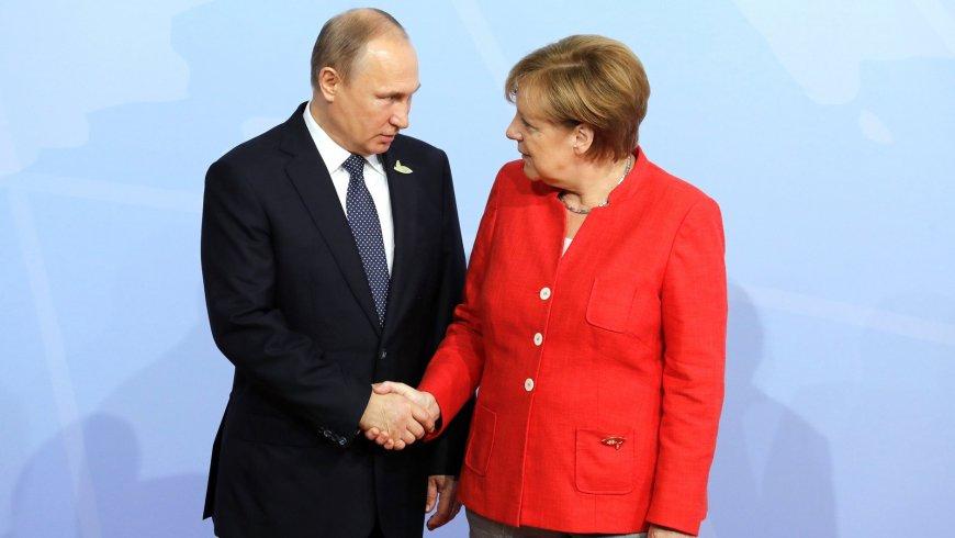 Погребинский о визите Путина в Берлин: Меркель оказалась в жёстких рамках.