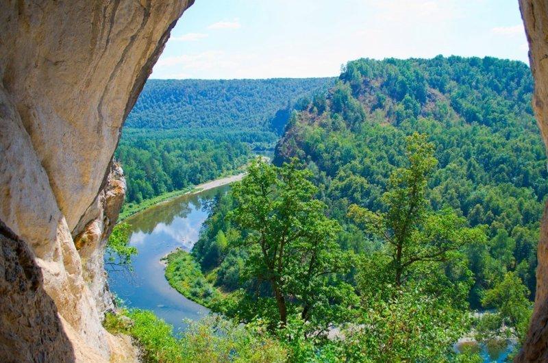 Белая река. Красивейшие пейзажи нашей Родины