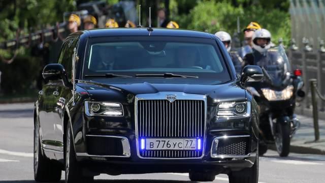 "В США признали превосходство лимузина Путина над ""Зверем"" Трампа"
