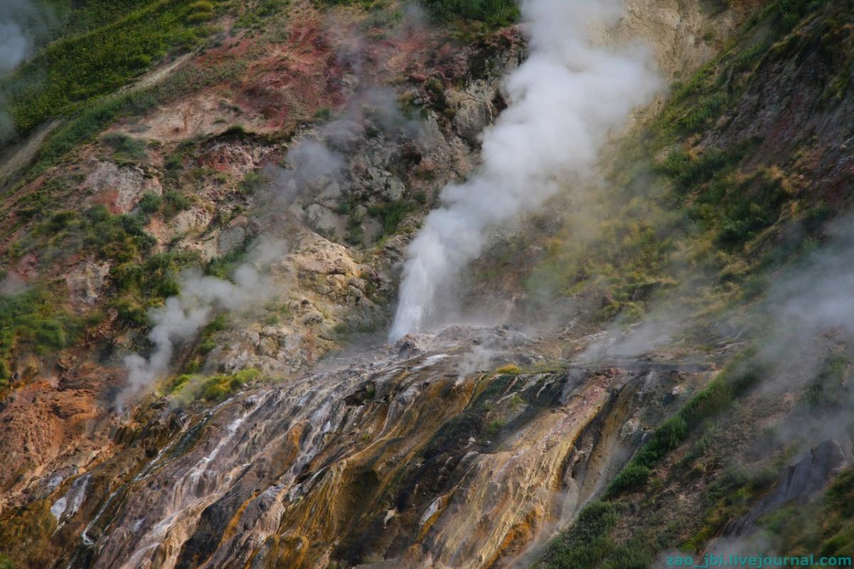 Долина гейзеров. Водопады.