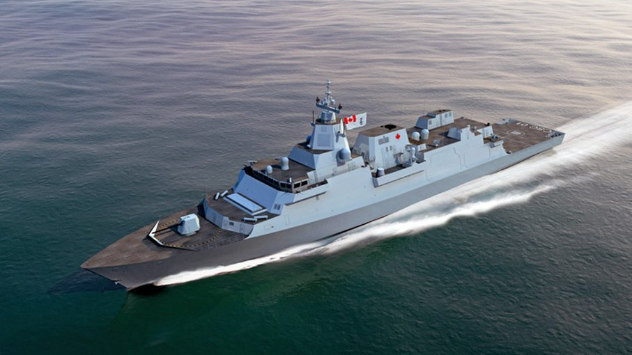 Канада выбрала британский фрегат типа 26