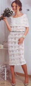 Подборка вязаных платьев (продолжение)