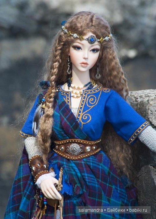 Волшебный мир. Куклы Марты Боерс