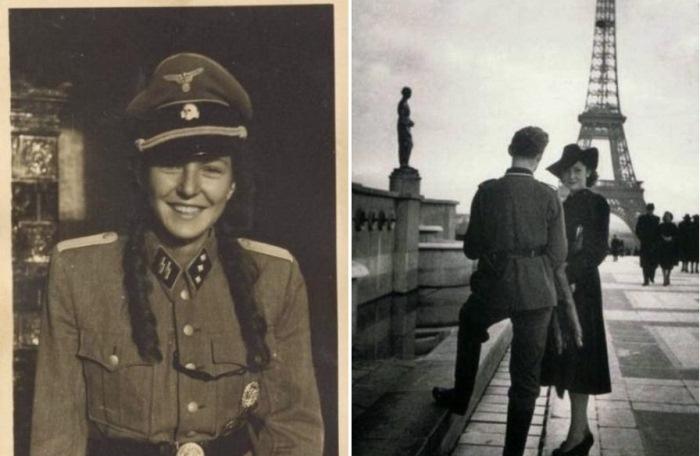 В постели с врагом: фотографии француженок, вступивших в связь с немцами.
