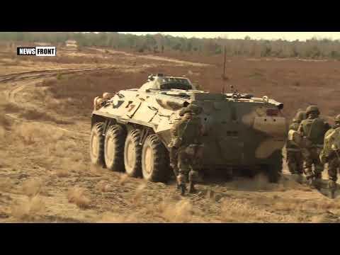 Десантники России и Белоруссии выполнили контрдиверсионные действия в ходе совместного учения