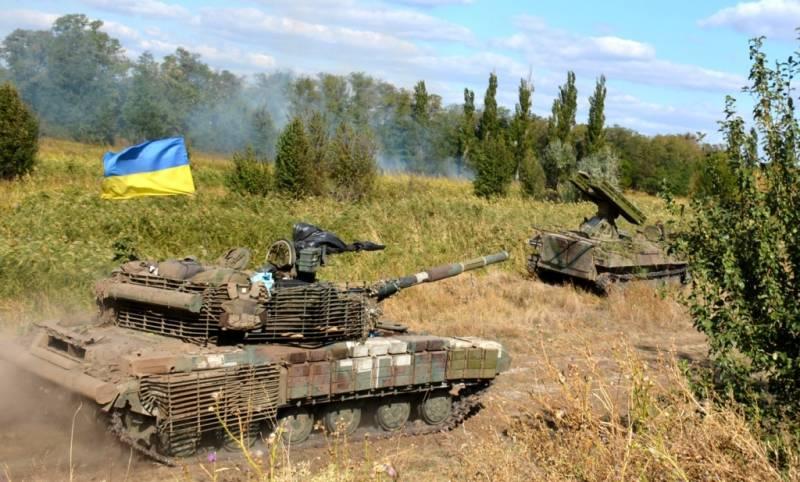 Бригадно-тактические учения танковых войск Украины