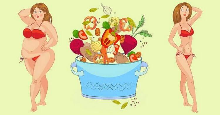 9 продуктов, которые разъедают жир. Минус 4 кг за месяц, но без намека на голод