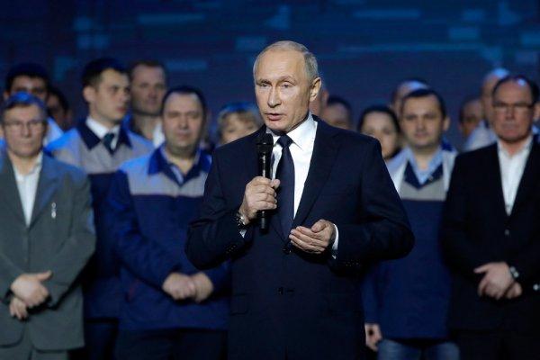 Владимир Владимирович Путин начал свою предвыборную кампанию с Нижнего Новгорода (Видео)