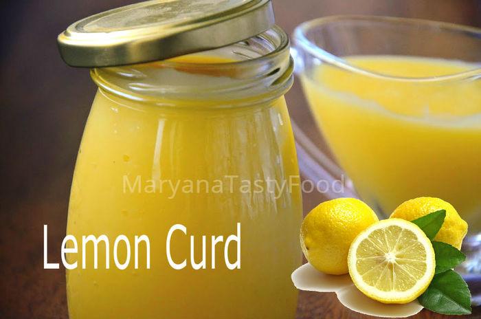 Лимонный Курд (Lemon Curd) З…