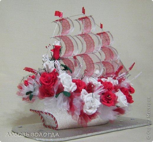 Свит-дизайн День рождения Моделирование конструирование Корабль мечты Бумага гофрированная Продукты пищевые фото 17