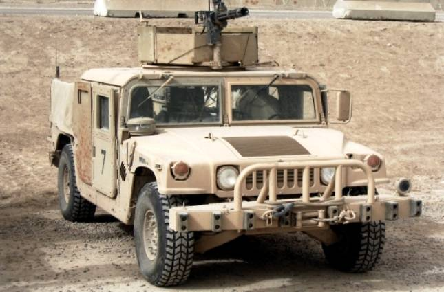 США поставили косовской «армии» бронеавтомобили