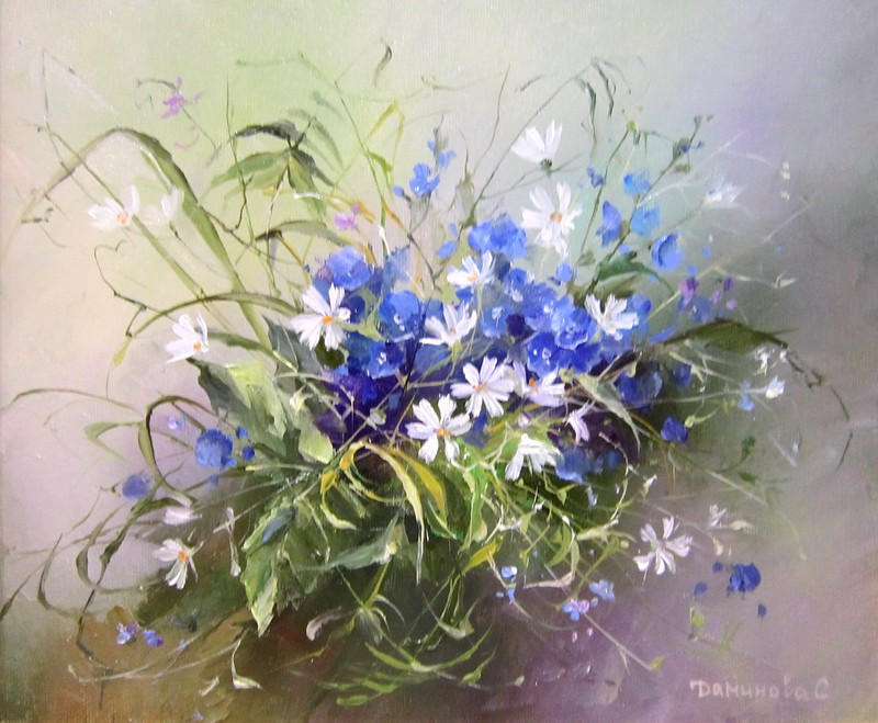 Вальс цветов на картинах Даминовой Стеллы
