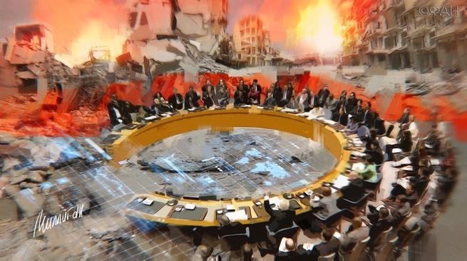 Фейк для провокации: США и союзники по НАТО нарушили устав ООН
