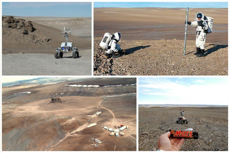 Отличительной особенностью острова является то, что на нем проводят испытания марсоходов жизнь, земля, интересное, необитаемые острова, факты