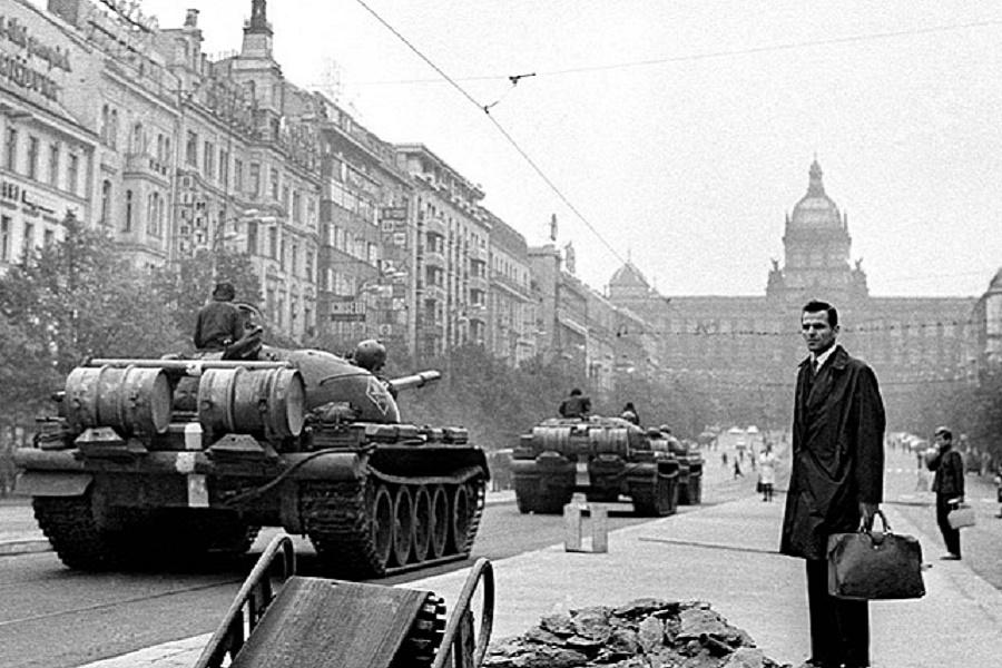 В августе 1968 года в ЧССР была предотвращена гражданская война