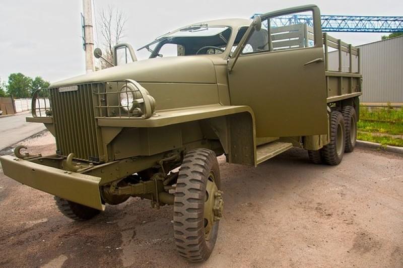 Studebaker US6. Американец, больше известный в России чем в США