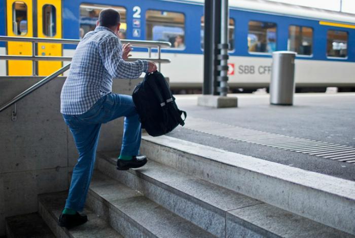 Посадка опаздывающих пассажиров.