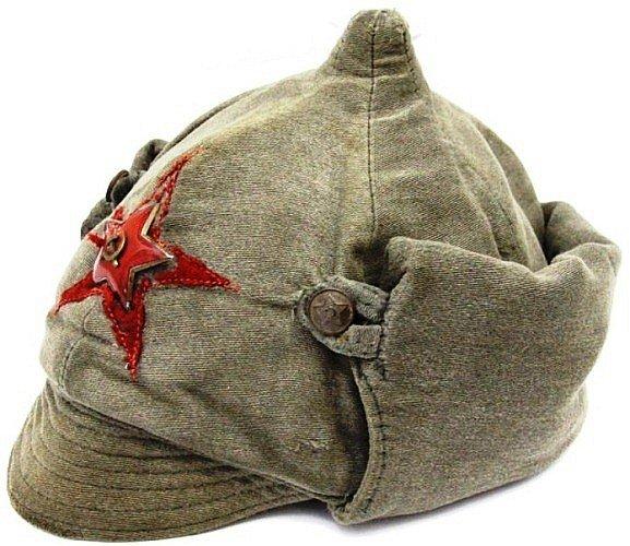 Символ Красной армии. Богатырка, фрунзевка, буденовка