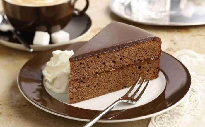Фото торта захер