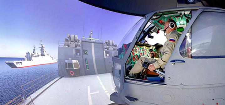 """В ЦНТУ """"Динамика"""" создан тренажёр для обучения экипажа вертолёта Ка-27М"""