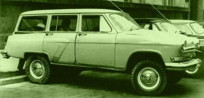 Советские автомобили хрущевс…