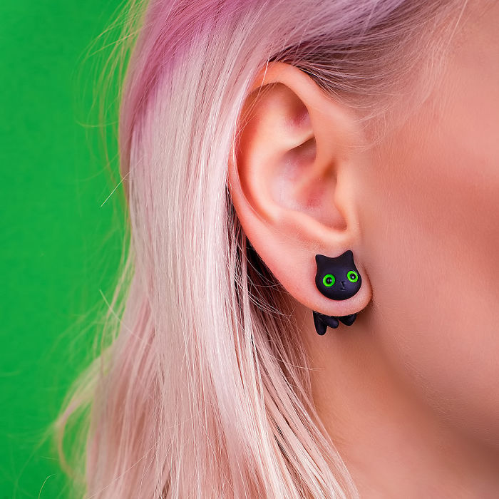 Cat Earrings: How I Turned My Hobby Into Business