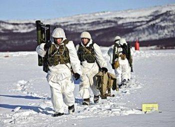 В России подготовлено первое подразделение офицеров для службы в Арктике