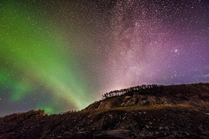 Небесные ночные пути