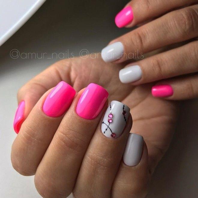 Неоновые ногти 30 идей модного летнего маникюра
