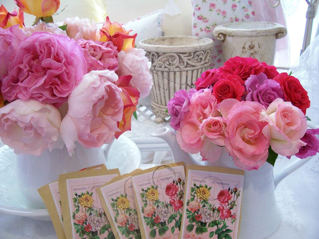 Розово-винтажное настроение