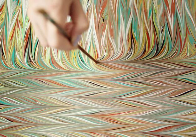 Рисование на воде в технике эбру: потрясающие узоры, которые повторит даже новичок