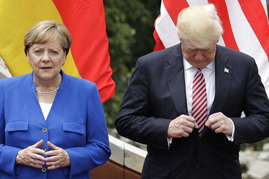 Меркель против Трампа. За «Газпром»
