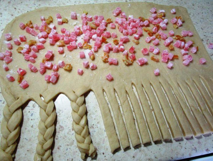 Витой пирог «Корона» с начин…