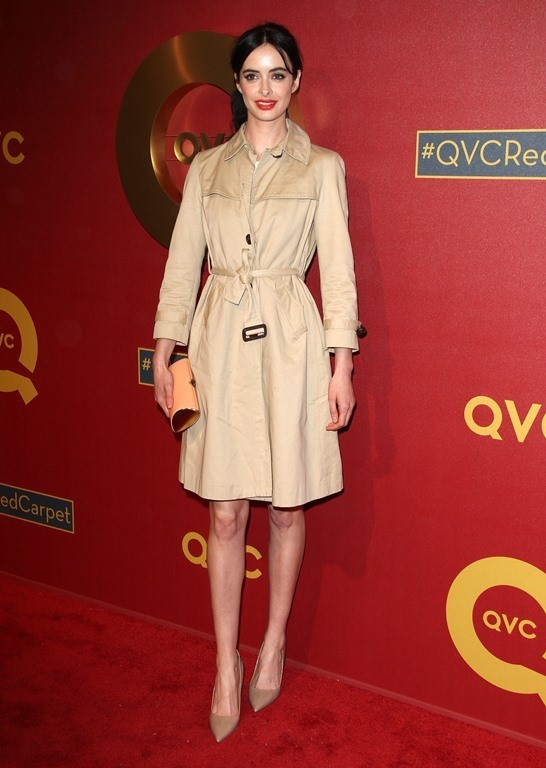 113995, Krysten Ritter attends the 5th Annual QVC Red Carpet Style held at the Four Seasons Hotel in Los Angeles on Thursday February, 13, 2014. Photograph: © Pacific Coast News. Los Angeles Office: +1 310.822.0419 London Office: +44 208.090.4079 sales@pa