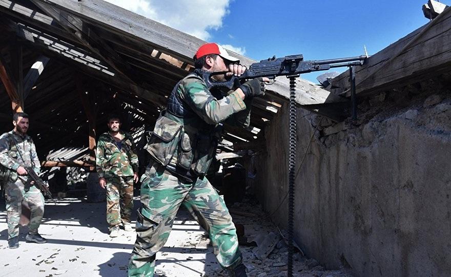 «Свобода!»: сирийская армия освободила лагерь беженцев Ярмук