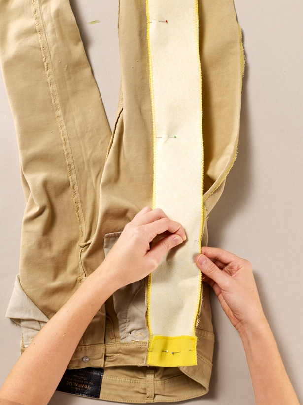 Как увеличить размер брюк своими руками 93