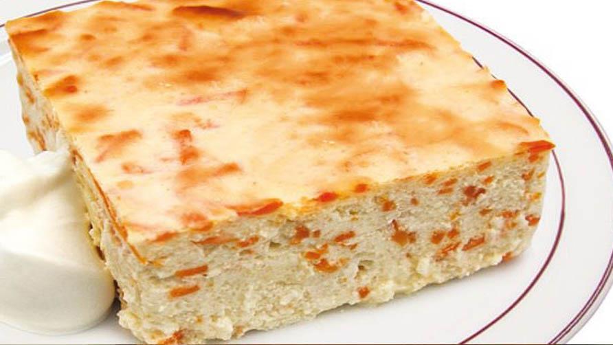 Творожно-медовый диетический пирог