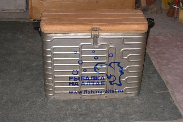 Ящик для рыбалки из морозильной камеры своими