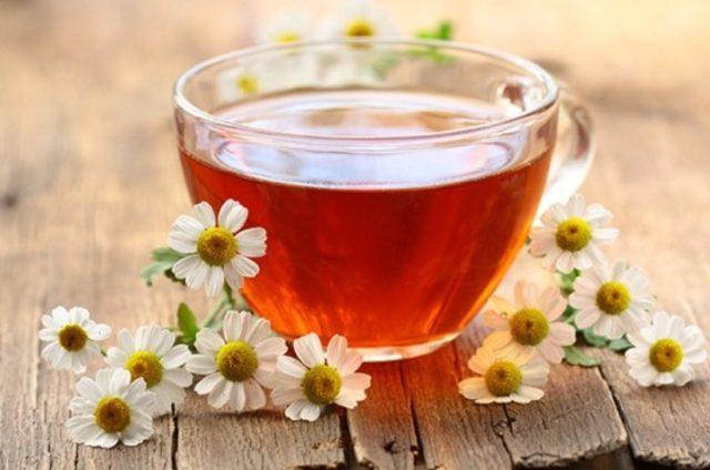 Цветочный чай для укрепления здоровья